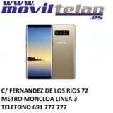 Galaxy note 8 64gb negro impecable - foto