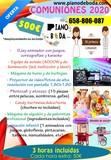 Pack comuniÓn, dj, juegos, karaoke - foto