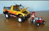 todoterreno con quad, Playmobil 4228 - foto
