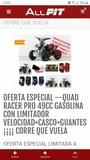 ALLPIT _RACERPRO - MINI QUAD RACER 49CC GASOLINA - foto