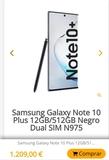 Samsung Galaxy note 10+ 512gb - foto