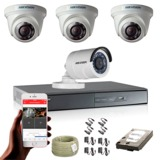 Equipo kit camaras de vigilancia, oferta - foto
