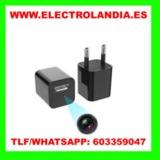 SbcI  Cargador USB Camara Espia HD - foto