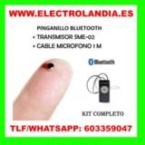 8zkb  Pinganillo Transmisor Bluetooth - foto