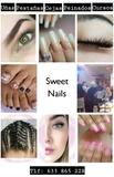cejas uñas pestañas pedicura peinados - foto