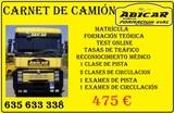 CARNET DE CAMIÓN - foto