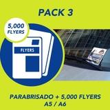 Impresión de 5000 flyers + Parabrisado - foto
