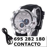 Reloj camara Espia 1080p ainm - foto