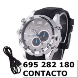 Reloj camara Espia 1080p azpb - foto