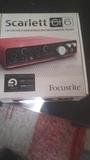Interfaz tarjeta de sonido FOCUSRITE SCA - foto