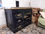 Cocina calefactora hergon - foto