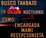 BUSCO TRABAJO EN CLUB NOCTURNO - foto