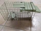 Jaula trampa para conejos y animales - foto