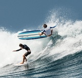 TABLA DE SURF DE ESPUMA 8 PIES - foto