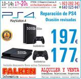 PS4  500Gb ocasión revisadas Garantía - foto