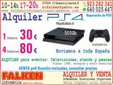 Alquiler de PS4 y televisiones - foto