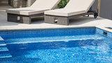 Renovación liner piscina acero en Burgos - foto