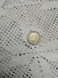 moneda de 5 pts franco año 1957 - foto