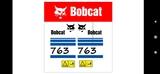 BOBCAT 763 ADHESIVOS - foto