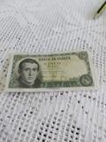 billete español de  colección - foto