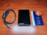 Disco duro Toshiba Store Steel de 120 GB - foto