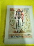 libro vuelta ciclista a Cataluña 1944 - foto