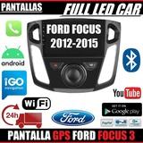 PANTALLA GPS ANDORID FORD FOCUS 3 WIFI - foto