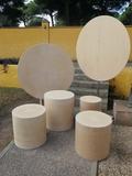 cilindros decoración - foto