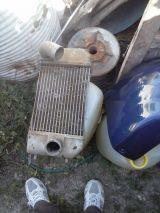 radiador intercooler discovery 200 tdi - foto