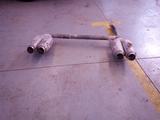 tubo escape salidas traseras silencioso - foto