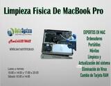 Limpieza física de Macbook Pro en Madrid - foto