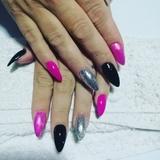 técnica nails Art Colombia - foto