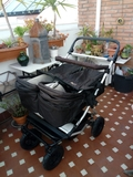 carrito gemelar mountain buggy - foto