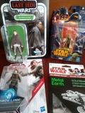 Lote 4 figuras Star Wars sin abrir - foto