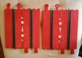 cuentavueltas mecanico rojo scalextric - foto