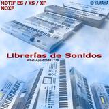 Sonidos para Yamaha MOTIF XF-XS-ES-MOXF - foto