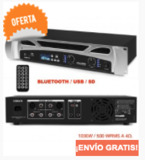 VPA1000 (2X500W / 2X250 WRMS A 4) BLUET - foto