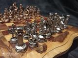 ajedrez decorativo muy bonito - foto