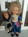 Muñeca Mari Carmen y sus muñecos. Famosa - foto