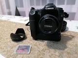 Canon Eos 40d con objetivo y grip - foto