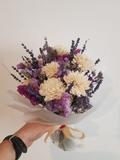 Flores secas y preservadas - foto