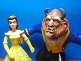 Lote de Figuras Bella y Bestia - foto