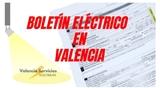 Boletín eléctrico - foto