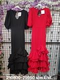 Vestido Flamenca abullonado - foto
