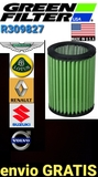 Filtro aire racing green varios modelos - foto