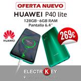 HUAWEI P40 LITE 128GB/6GB VERDE. NUEVO