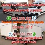 Portes y Mudanza  Madrid y Nacional - foto