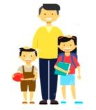 Cuidador de niños - foto