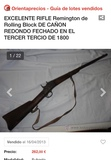 Se intercambian armas antiguas - foto