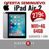 Tablet iPad Air 2 64GB WIFI+4G Seminueva - foto